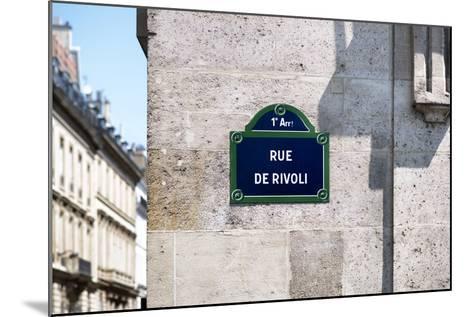 Paris Focus - Rue de Rivoli-Philippe Hugonnard-Mounted Photographic Print