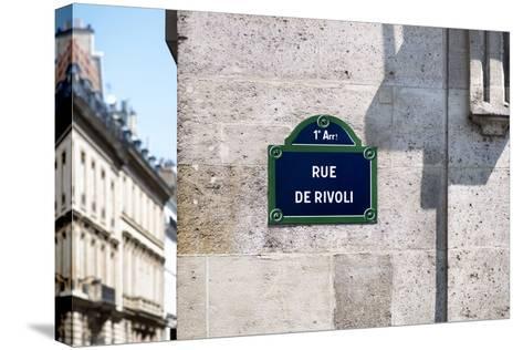 Paris Focus - Rue de Rivoli-Philippe Hugonnard-Stretched Canvas Print