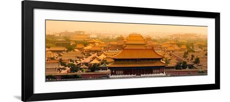 China 10MKm2 Collection - The Forbidden City - Beijing-Philippe Hugonnard-Framed Art Print