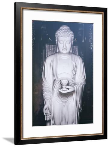 China 10MKm2 Collection - White Buddha-Philippe Hugonnard-Framed Art Print