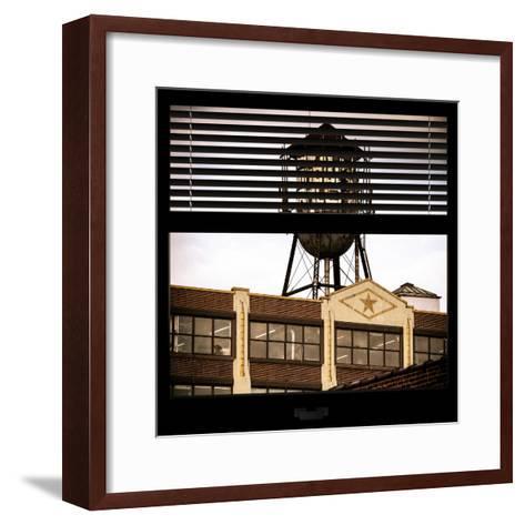 View from the Window - Brooklyn-Philippe Hugonnard-Framed Art Print