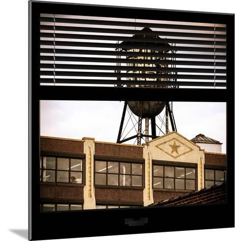 View from the Window - Brooklyn-Philippe Hugonnard-Mounted Photographic Print