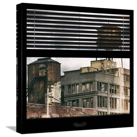 View from the Window - Brooklyn-Philippe Hugonnard-Stretched Canvas Print