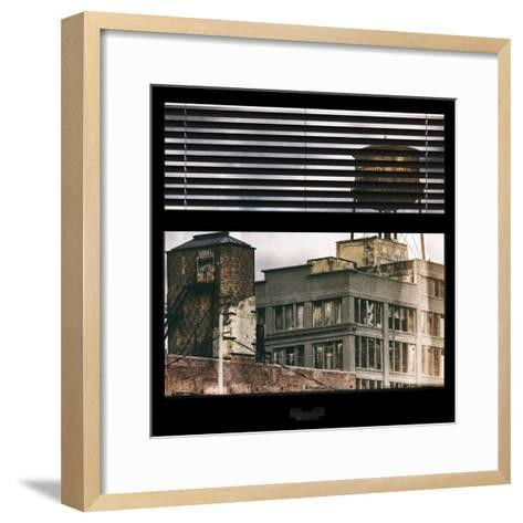 View from the Window - Brooklyn-Philippe Hugonnard-Framed Art Print