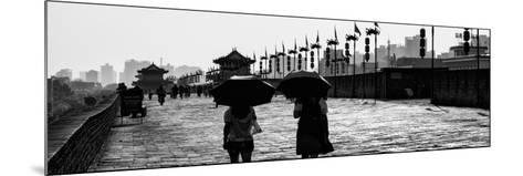 China 10MKm2 Collection - Walk on the City Walls - Xi'an City-Philippe Hugonnard-Mounted Photographic Print