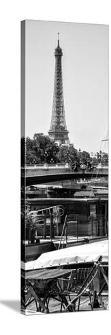 Paris Focus - Barge Ride-Philippe Hugonnard-Stretched Canvas Print