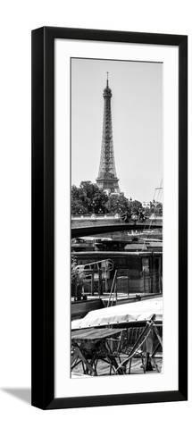 Paris Focus - Barge Ride-Philippe Hugonnard-Framed Art Print