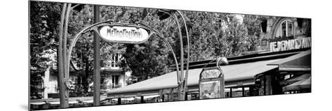 Paris Focus - Metropolitain Saint Michel-Philippe Hugonnard-Mounted Photographic Print