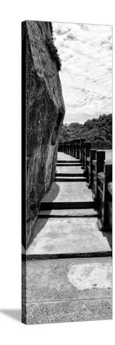 China 10MKm2 Collection - Walk to the Waterfront-Philippe Hugonnard-Stretched Canvas Print