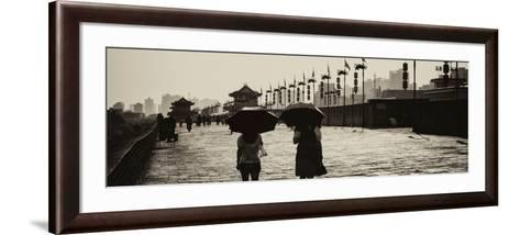 China 10MKm2 Collection - Walk on the City Walls - Xi'an City-Philippe Hugonnard-Framed Art Print