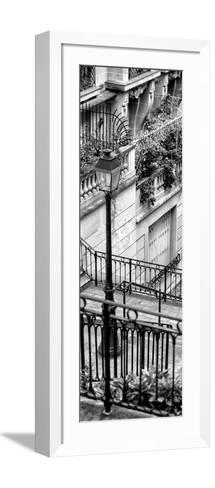 Paris Focus - Stairs of Montmartre-Philippe Hugonnard-Framed Art Print