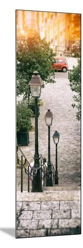 Paris Focus - Stairs of Montmartre-Philippe Hugonnard-Mounted Photographic Print