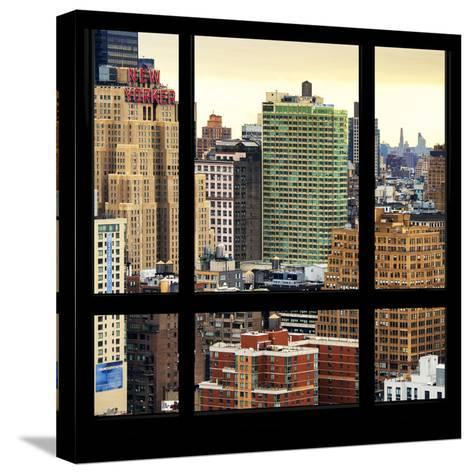 View from the Window - Hell's Kitchen - NYC-Philippe Hugonnard-Stretched Canvas Print