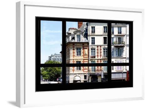 Paris Focus - Paris Window View-Philippe Hugonnard-Framed Art Print