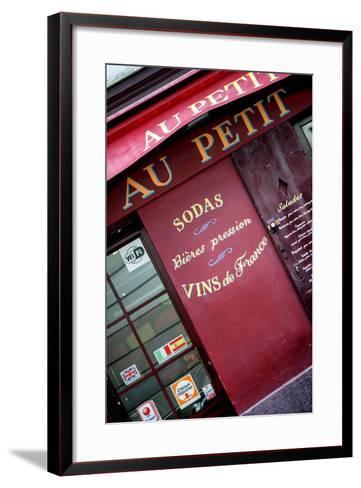 Paris Focus - Vins de France-Philippe Hugonnard-Framed Art Print