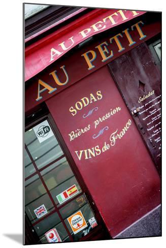 Paris Focus - Vins de France-Philippe Hugonnard-Mounted Photographic Print