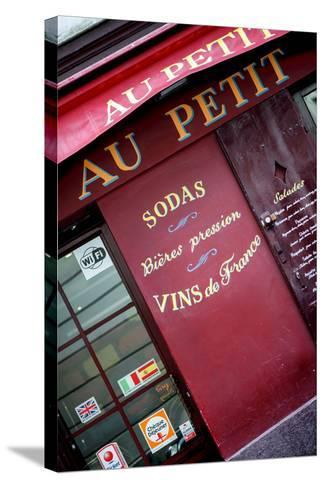 Paris Focus - Vins de France-Philippe Hugonnard-Stretched Canvas Print
