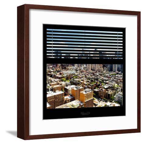 View from the Window - Midtown Manhattan-Philippe Hugonnard-Framed Art Print