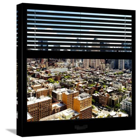 View from the Window - Midtown Manhattan-Philippe Hugonnard-Stretched Canvas Print