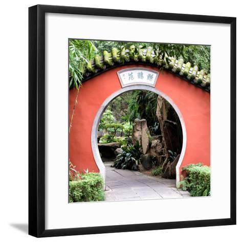 China 10MKm2 Collection - Asian Gateway-Philippe Hugonnard-Framed Art Print