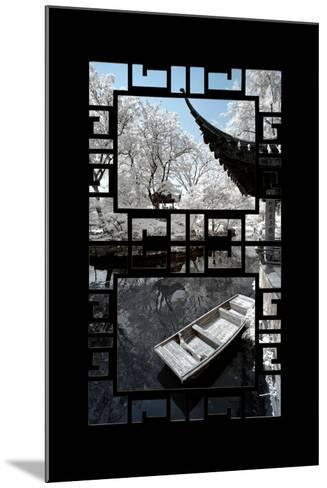 China 10MKm2 Collection - Asian Window - Another Look Series - Boat Trip-Philippe Hugonnard-Mounted Photographic Print