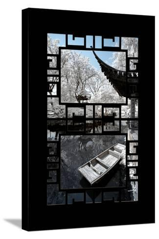 China 10MKm2 Collection - Asian Window - Another Look Series - Boat Trip-Philippe Hugonnard-Stretched Canvas Print