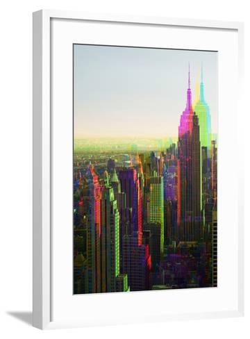 After Twitch NYC - Empire State Building-Philippe Hugonnard-Framed Art Print