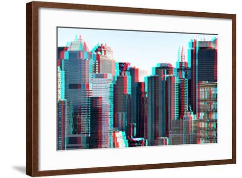 After Twitch NYC - Manhattan-Philippe Hugonnard-Framed Art Print