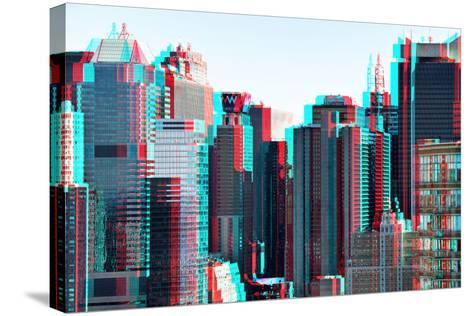 After Twitch NYC - Manhattan-Philippe Hugonnard-Stretched Canvas Print