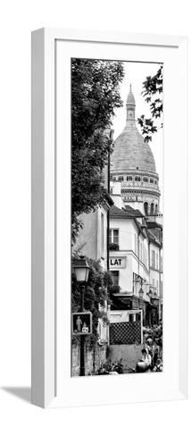 Paris Focus - Sacre-C?ur Basilica - Montmartre-Philippe Hugonnard-Framed Art Print