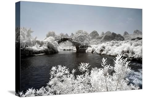 China 10MKm2 Collection - Another Look - Yulong Bridge-Philippe Hugonnard-Stretched Canvas Print