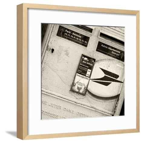 Paris Focus - French Box Letters-Philippe Hugonnard-Framed Art Print