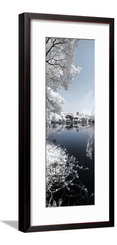 China 10MKm2 Collection - Another Look - Blue Lake-Philippe Hugonnard-Framed Art Print