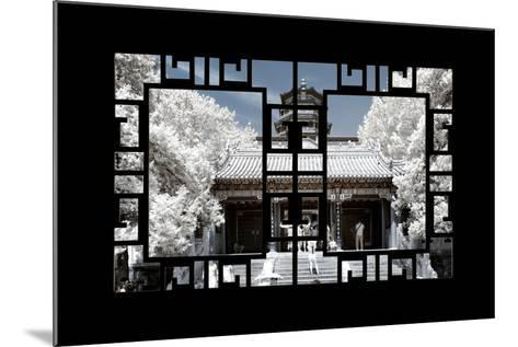China 10MKm2 Collection - Asian Window - Another Look Series - Summer Palace-Philippe Hugonnard-Mounted Photographic Print
