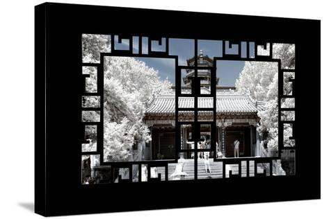 China 10MKm2 Collection - Asian Window - Another Look Series - Summer Palace-Philippe Hugonnard-Stretched Canvas Print