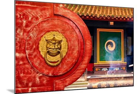 China 10MKm2 Collection - The Door God - Yin Yang-Philippe Hugonnard-Mounted Photographic Print