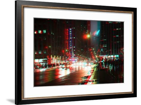 After Twitch NYC - Urban City-Philippe Hugonnard-Framed Art Print