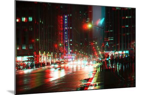 After Twitch NYC - Urban City-Philippe Hugonnard-Mounted Photographic Print