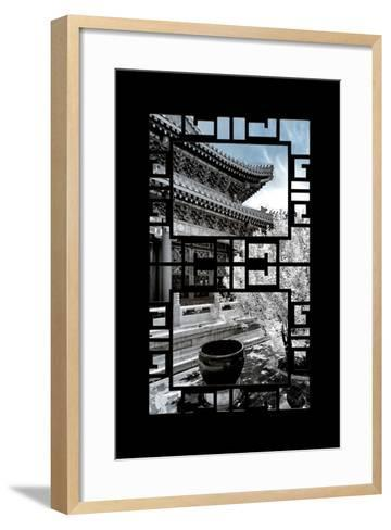 China 10MKm2 Collection - Asian Window - Another Look Series - Summer Palace-Philippe Hugonnard-Framed Art Print