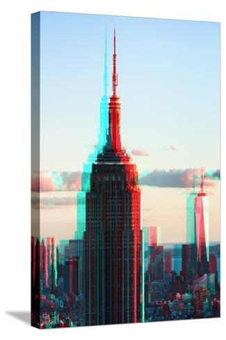 After Twitch NYC - Towers-Philippe Hugonnard-Stretched Canvas Print