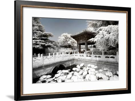 China 10MKm2 Collection - Another Look - Lotus Temple-Philippe Hugonnard-Framed Art Print