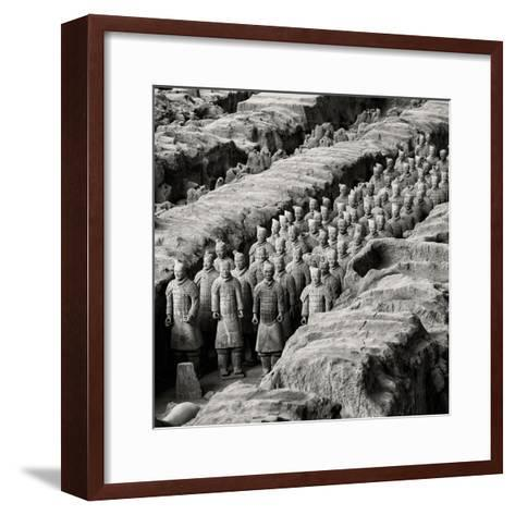 China 10MKm2 Collection - Army of Terracotta Warriors - Shaanxi Province-Philippe Hugonnard-Framed Art Print