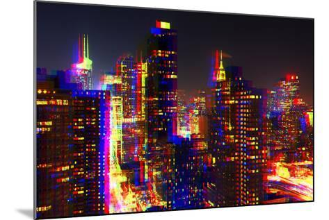 After Twitch NYC - Towers Night-Philippe Hugonnard-Mounted Photographic Print