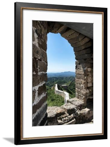 China 10MKm2 Collection - Architecture of the Great Wall of China-Philippe Hugonnard-Framed Art Print
