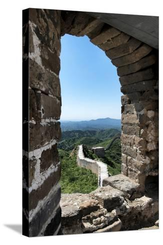 China 10MKm2 Collection - Architecture of the Great Wall of China-Philippe Hugonnard-Stretched Canvas Print