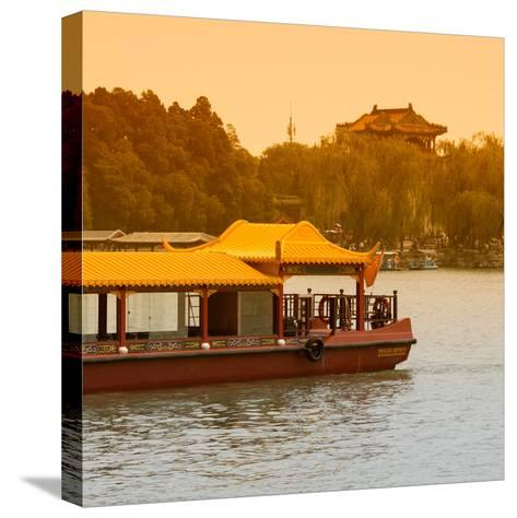 China 10MKm2 Collection - Traditional Dragon Boat-Philippe Hugonnard-Stretched Canvas Print