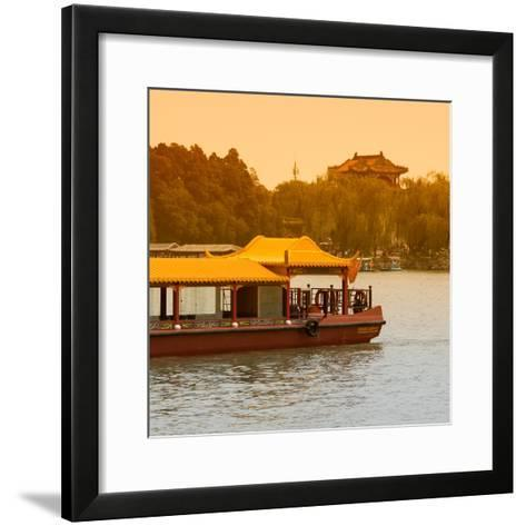 China 10MKm2 Collection - Traditional Dragon Boat-Philippe Hugonnard-Framed Art Print