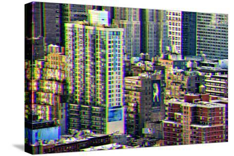 After Twitch NYC - Manhattan Buildings-Philippe Hugonnard-Stretched Canvas Print