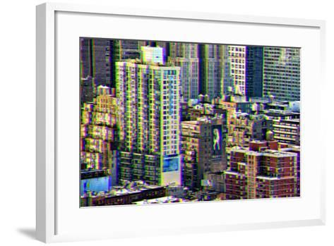 After Twitch NYC - Manhattan Buildings-Philippe Hugonnard-Framed Art Print