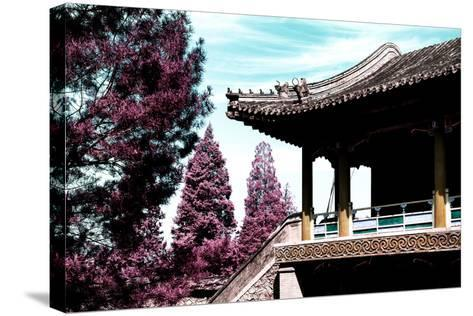 China 10MKm2 Collection - Architectural Temple-Philippe Hugonnard-Stretched Canvas Print